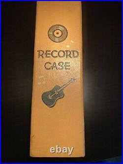 Elvis Presley 45 record case 1956
