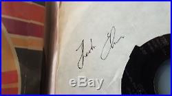 Elvis Presley 45's collection + Elvis autograph (no COA)