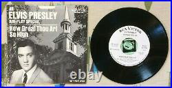 Elvis Presley 45 w PS How Great Thou Art 1967 Air Play Special WL Promo VG+/M