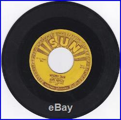Elvis Presley 45rpm On Sun Mystery Train Rare Elvis Sun