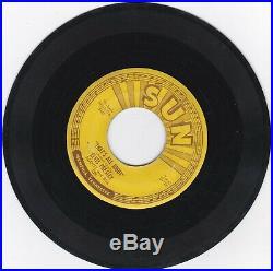 Elvis Presley 45rpm On Sun That's All Right Original Sun Pressing