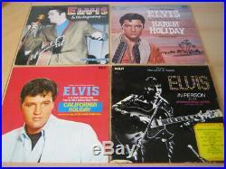 Elvis Presley 49 LP Sammlung Paket Konvolut Doppel LPs Boxen