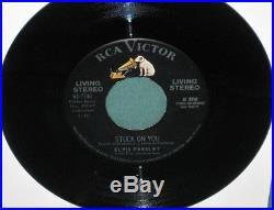 Elvis Presley 61-7740 Stuck On You 45 Living Stereo NM 1960 Books $800