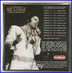 Elvis Presley 7 CD Walk A Mile In My Shoes 2018 Redemption On Stage Recordings