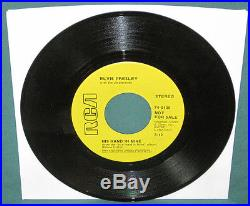 Elvis Presley 74-0130 His Hand In Mine PROMO 45 With Sleeve NM