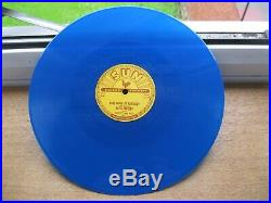 Elvis Presley 78 RPM That's All Right / Blue Moon Of Kentucky Sun 209 Blue Vinyl