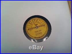 Elvis Presley 78RPM Sun 223 Mystery Train, I Forgot To Remember VG/VG+