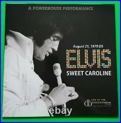 Elvis Presley A Powerhouse Performance Continued (3 Lp & Cd) Orange Vinyl