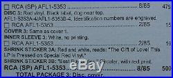 Elvis Presley A Valentine Gift For You AFL1-5353 (Black Label, USA) MEGA RARE