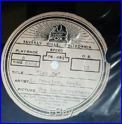 Elvis Presley ACETATE RECORDS 9 TOTAL RARE