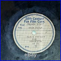 Elvis Presley ACETATE RECORDS 9 TOTAL RARE