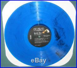 Elvis Presley APL1-2428 Moody Blue LP Splatter Splash Blue/Black NM 1977