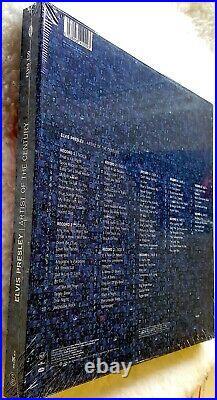 Elvis Presley ARTIST Of The CENTURY Audiophile 5 LP Box Set SEALED Mint Rare
