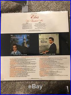 Elvis Presley Album He Touched Me Album Sealed Perfect With Rare Grammy Sticker