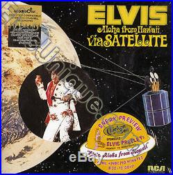 Elvis Presley -Aloha From Hawaii (Chicken Of The Sea) U. S. Promo LP Still Sealed