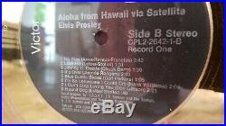 Elvis Presley Aloha From Hawaii Limited Edition 24K Gold Record Concert Tickets