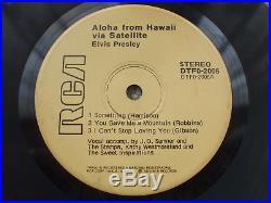 Elvis Presley Aloha Via Satellite DTFO-2006 Mega RARE- HTF -1974 EP + P/S