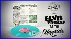 Elvis Presley At The Hayride Live 1954 1956 10 inch Turquoise Vinyl 100 made