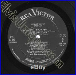 Elvis Presley August 1965 Sampler Mint Minus LP