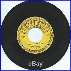 Elvis Presley Baby Let's Play House / I'm Left, You're Right, She's Gone Sun