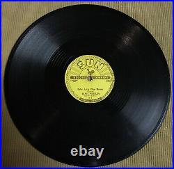 Elvis Presley Baby Let's Play House Sun 217 Original 78 rpm 1955