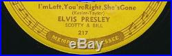 Elvis Presley Baby Let's Play House on Sun 217 original from 1955! HEAR
