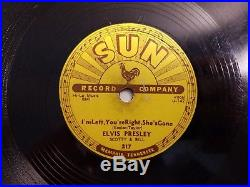Elvis Presley Baby Lets Play House Im Right Youre Left Shes Gone Sun 78 orig