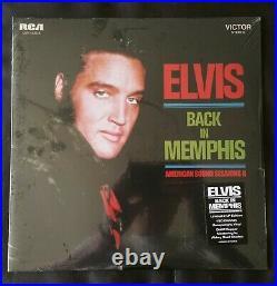 Elvis Presley Back In Memphis American Sound Sessions Ftd Vinyl Mega Rare