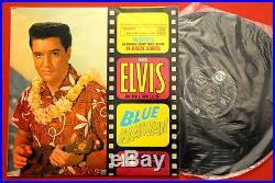 Elvis Presley Blue Hawaii 1962 Rarest Exyugo Lp