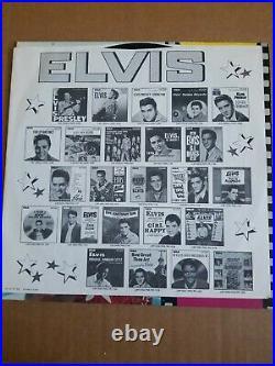 Elvis Presley Blue Hawaii Vinyl Record Rare Version 1977 NM