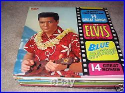 Elvis Presley Blue Hawaii on LP LSP-2426 Stereo