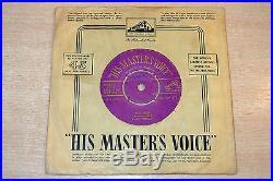 Elvis Presley/Blue Moon/1956 HMV 7 Single/Removable Centre/Gold Text