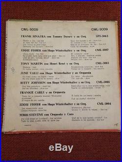 Elvis Presley Chile Megarare Original 1956 Cml-3009 10