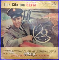 Elvis Presley Chile Original Una Cita Con Elvis Rca 1959 Wonderful Cover