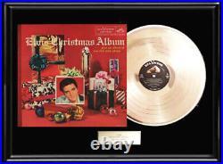 Elvis Presley Christmas Album Framed Lp Vinyl Record Display Rare Loc-1035 Album