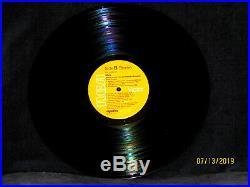 Elvis Presley ELVIS AS RECORDED ON STAGE IN MEMPHIS RARE DJ COPY LP DJL 1-0606
