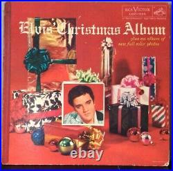 Elvis Presley ELVIS' CHRISTMAS ALBUM LOC-1035 RCA'57 original gatefold VG/VG