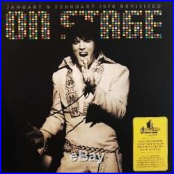 Elvis Presley ELVIS ON STAGE REVISITED 4 LP SET VERY VERY LIMITED