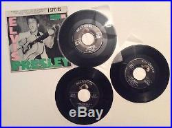 Elvis Presley EP SPD-23 SPD 23 RARE triple 7 Vinyl PROMO RCA 1956. Play tested