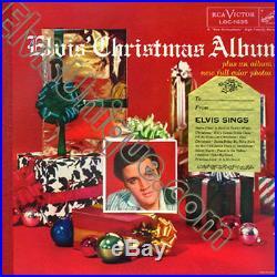 Elvis Presley Elvis' Christmas Album With Gold Sticker