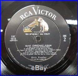 Elvis Presley Elvis' Christmas Album With Gold Sticker Top Copy Original LP 57