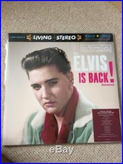 Elvis Presley Elvis Is Back FTD Vinyl LP