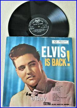 Elvis Presley / Elvis Is Back! / Rare Gatefold / Nz Rca Rpl 3155 / Plays Great