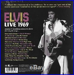 Elvis Presley Elvis Live 1969 11-CD Set RCA Records