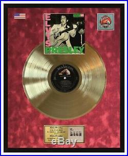 Elvis Presley Elvis Presley 1956 Gold Vinyl Record in Frame RCA Victor Label