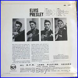 Elvis Presley Elvis Presley New Zealand Mono Record RPL 3283 VG/VG+