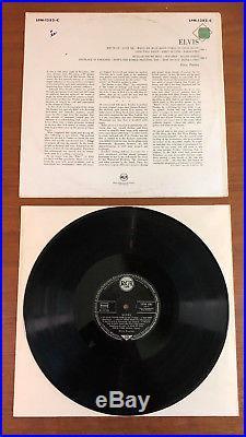 Elvis Presley Elvis Rca Lpm 1382-c Mono German 1956 Pressing Gorgeous Nm
