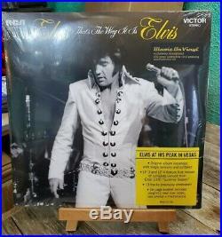 Elvis Presley Elvis That's The Way It Is Import 4 LP 180g Vinyl New Sealed Bonus