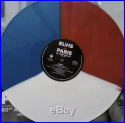 Elvis Presley Elvis in Paris (COLOURED VINYL LP + BOOK SEALED) ONLY 1,000 RSD