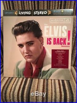 Elvis Presley Elvis is Back FTD LP vinyl 180g SEALED same day dispatch